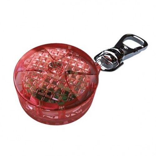 Ошейник и поводок Trixie Брелок-маячок, пластик (красный) - фото 1