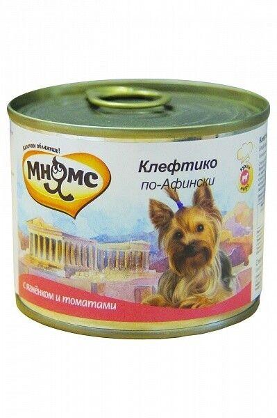 Мнямс Консервы для собак Клефтико по-афински 200 гр.х6 шт. - фото 1