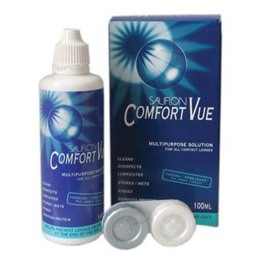 Средство по уходу и аксессуар для линз Sauflon Comfort Vue 380 - фото 1