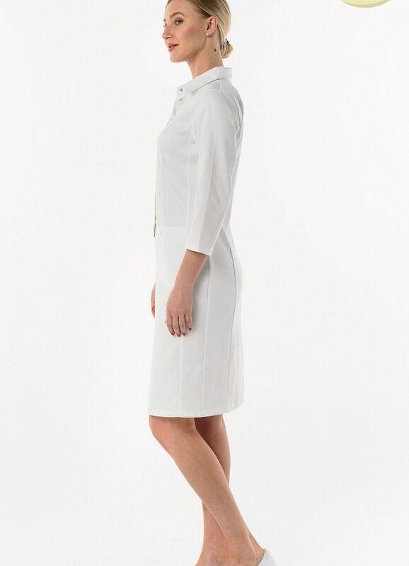 Доктор Стиль Медицинский халат «Элина» ЛЛ 2131.01 - фото 6