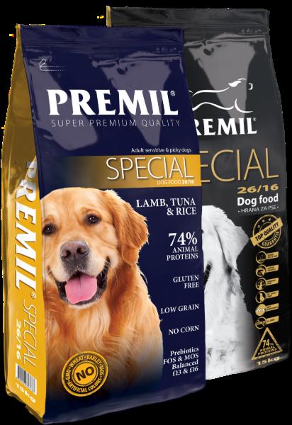 Premil Корм для собак Special SuperPremium 15 кг - фото 1