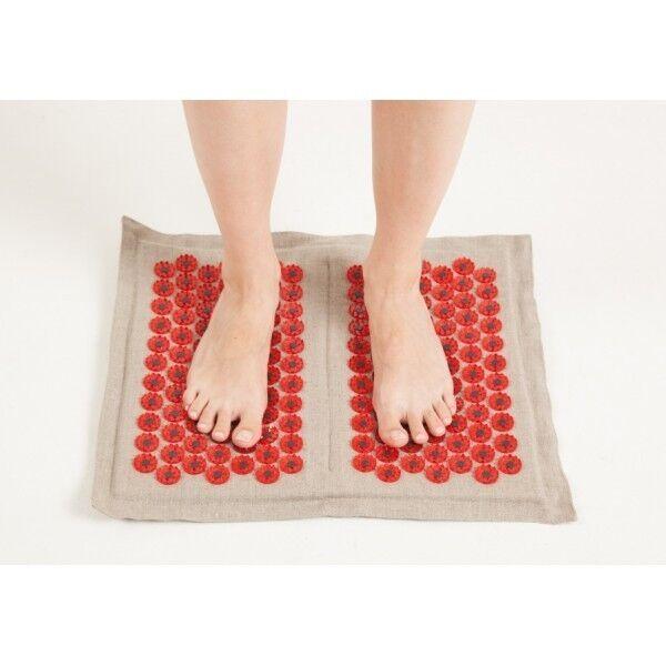 Кортин-медтехника Аппликатор Кузнецова на мягкой подложке для ступней (красный) - фото 1