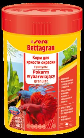 Sera Корм для рыб Bettagran - фото 1