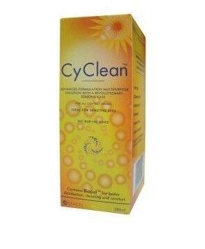 Средство по уходу и аксессуар для линз Sauflon Cy Clean 100 мл - фото 2
