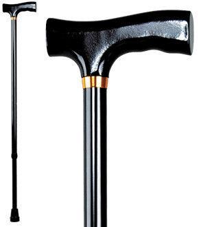 Antar Трость телескопическая с рисунком и Т-образной деревянной ручкой  АТ 51102 - фото 1