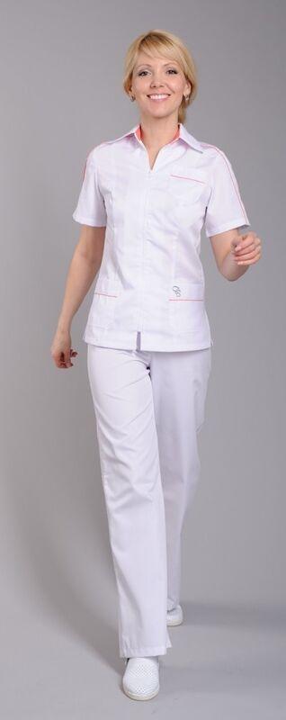 Доктор Стиль Блуза медицинская женская Клео (лл2224) - фото 3