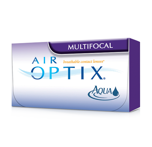 Контактные линзы CIBA Vision Air Optix Multifocal - фото 1