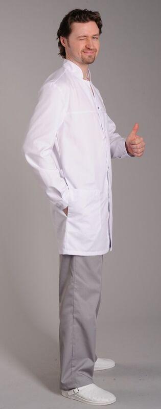 Доктор Стиль Халат медицинский мужской Руслан (лу1111) - фото 2