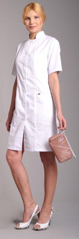 Доктор Стиль Халат медицинский женский Каприз (лу1123) - фото 4