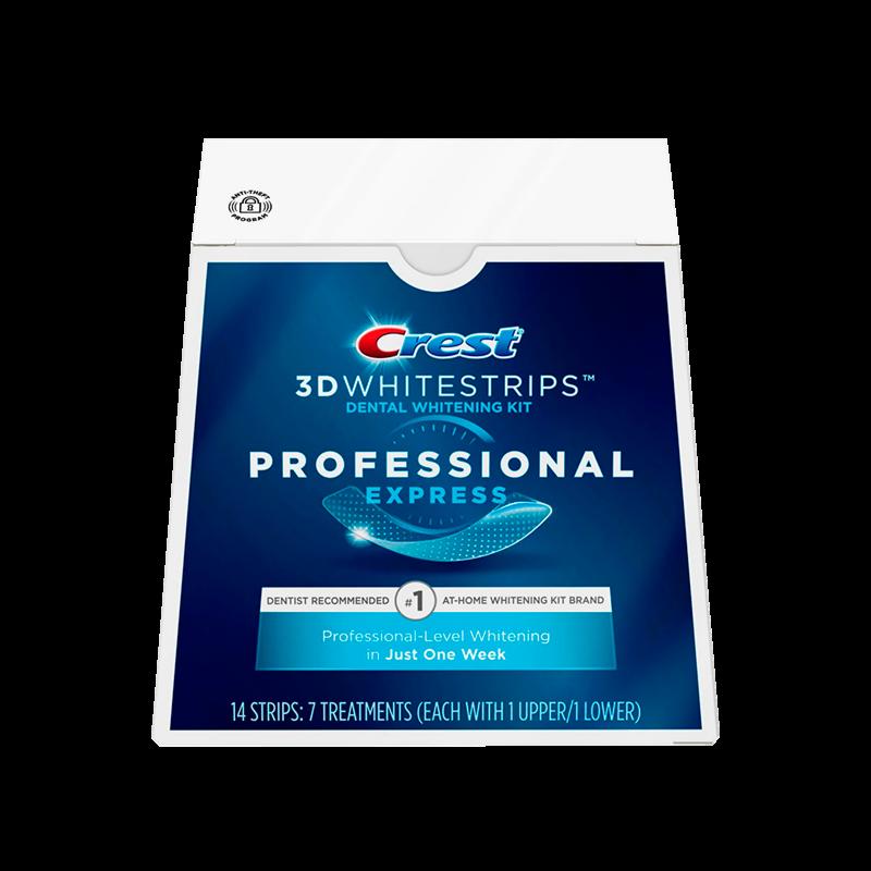 Crest Отбеливающие полоски для зубов Professional Express - фото 1