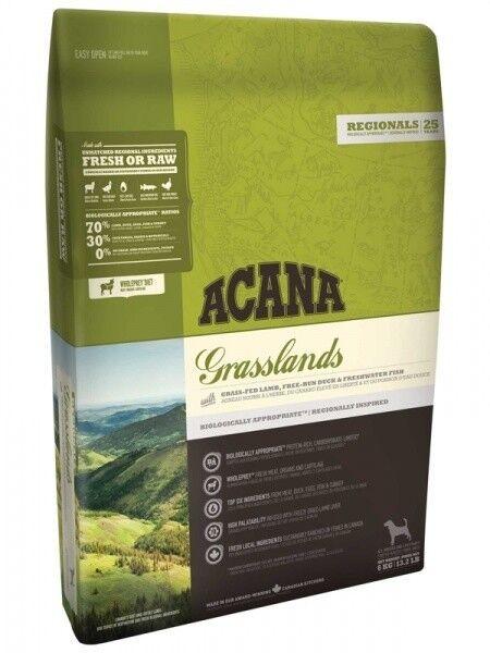 Acana Корм для собак Grasslands Dog (Ягненок) 6 кг - фото 1