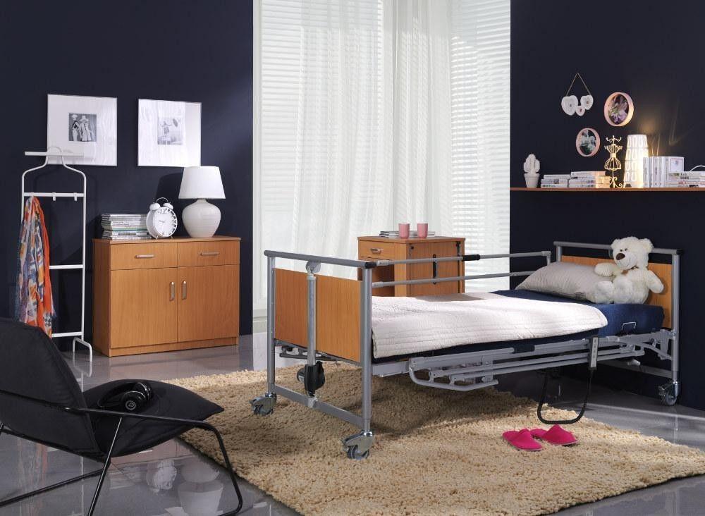 ELBUR Кровать функциональная 4-х секционная с электроприводом PB 321 - фото 2