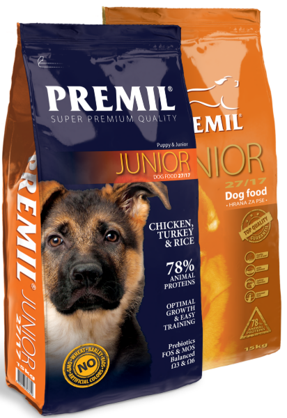 Premil Корм для собак Junior SuperPremium 3 кг - фото 1