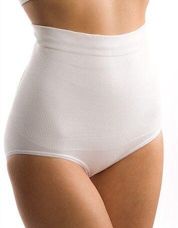 ФЭСТ Б-242 Пояс-трусы бесшовные для женщин послеродовые белый - фото 1