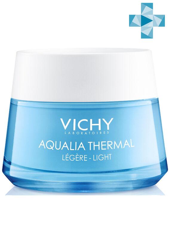 Vichy Крем AQUALIA THERMAL увлажняющий легкий для нормальной кожи, 50 мл - фото 1