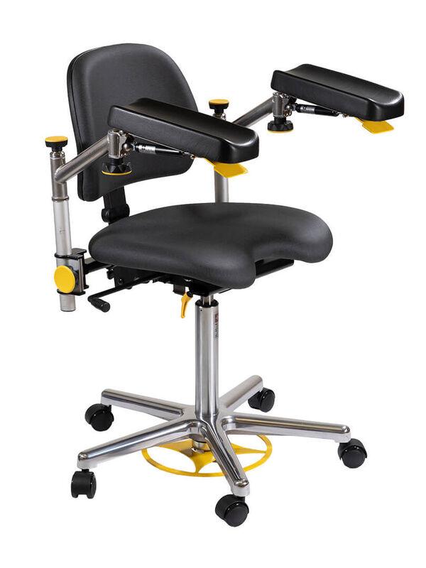 Медицинское оборудование Rini Операционное кресло хирурга Carl Swing - фото 1