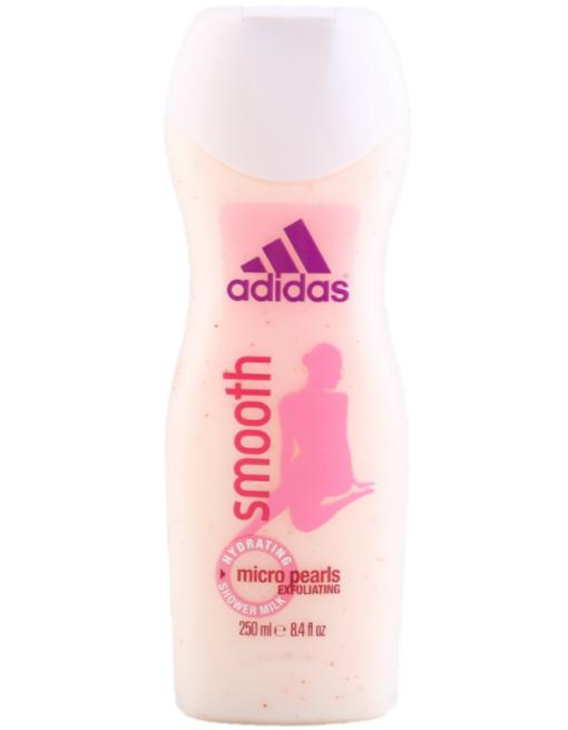 ADIDAS Молочко для душа Smooth увлажняющее женское 250 мл - фото 1