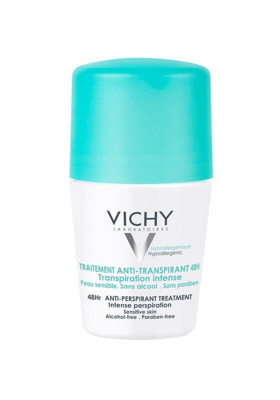 Vichy Дезодорант-шарик регулирующий избыточное потоотделение 50 мл - фото 1