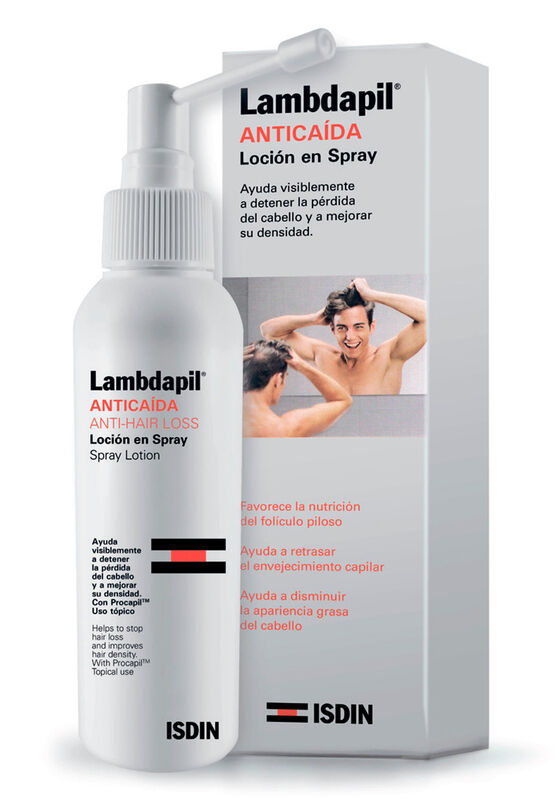 ISDIN Лосьон спрей против выпадения волос LAMBDAPIL+ 125 мл - фото 1