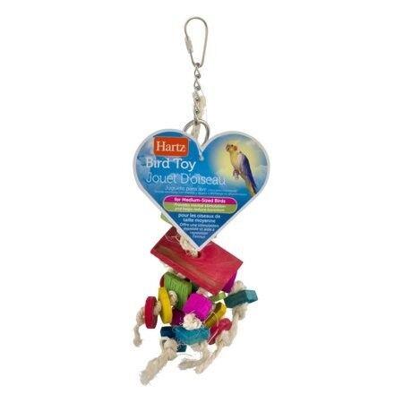Beeztees Игрушка для птиц из веревки и пластика (маленькая) - фото 1