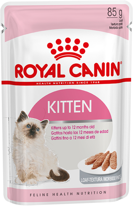 Royal Canin Kitten Instinctive Loaf (в паштете) 85г.х12 шт. - фото 1