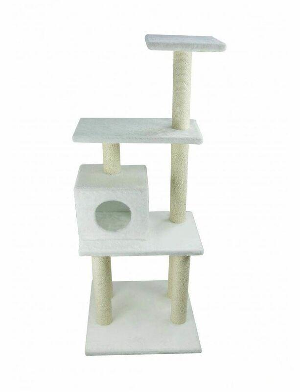 Когтеточка UrbanCat Когтеточка-домик 148 см - фото 5