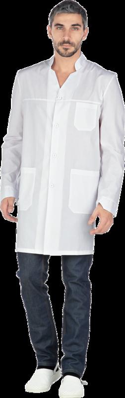 Спецобъединие Халат мужской медицинский Гипократ(хал724) - фото 1