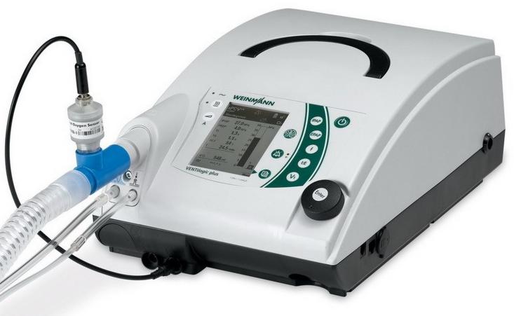 Медицинское оборудование Weinmann Аппарат искусственной инвазивной и неинвазивной вентиляции легких VENTiLogic Plus - фото 1