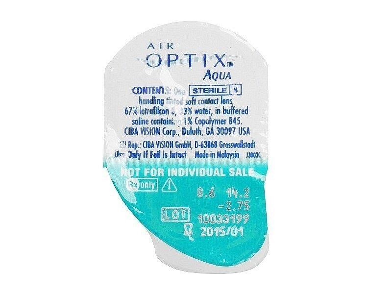 Контактные линзы CIBA Vision Air Optix Aqua - фото 2