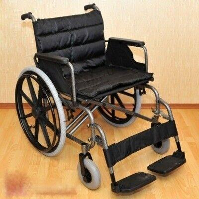 Прокат медицинских товаров Мега-Оптим Инвалидная коляска широкая FS951 - фото 2