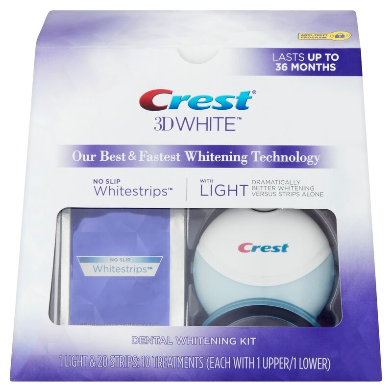 Crest Отбеливающая система 3D White Whitestrips With Light - фото 1