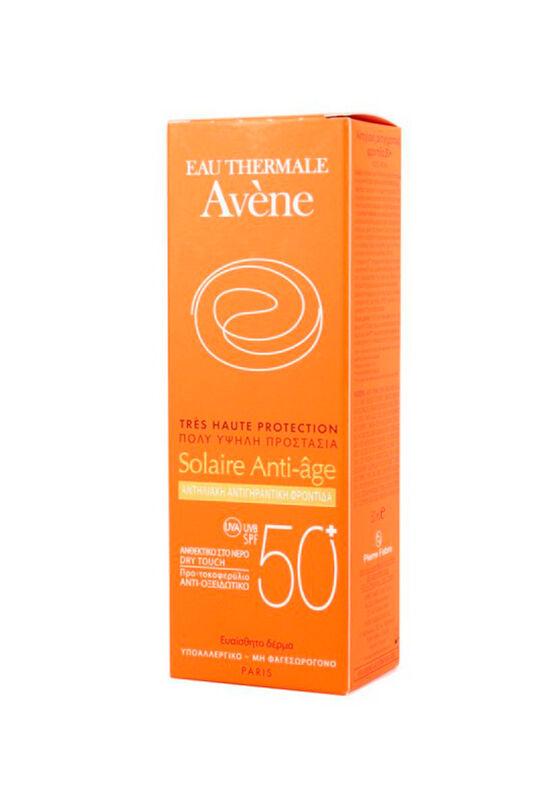 Avene Солнцезащитное средство SPF50+ антивозрастное 50 мл - фото 1