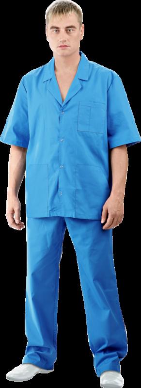 Спецобъединие Костюм мужской Доктор синий( кос709) - фото 1