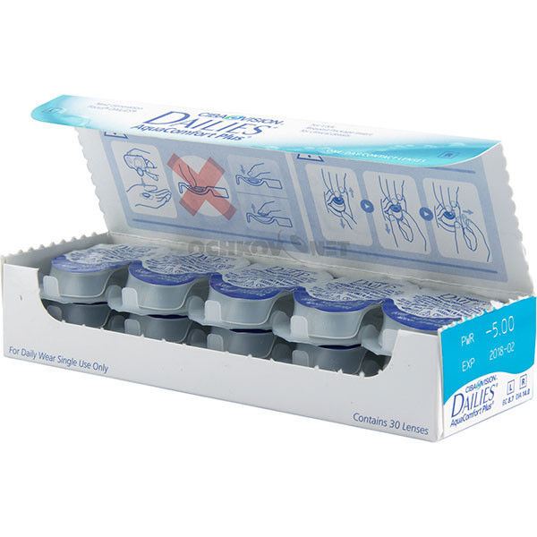Контактные линзы CIBA Vision Dailies Aqua Comfort Plus - фото 2