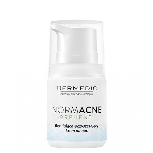 Dermedic NORMACNE регулирующе-очищающий крем на ночь 55г - фото 1