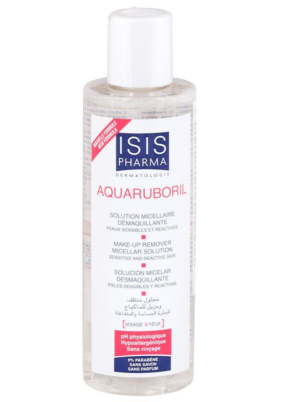 IsisPharma Мицеллярная вода для снятия макияжа для чувствительной и склонной к покраснению кожи AquaRuboril 200мл - фото 1