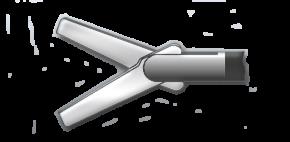 Медицинское оборудование ППП Ножницы лапароскопические прямые двухбраншевые Л-0044 - фото 1