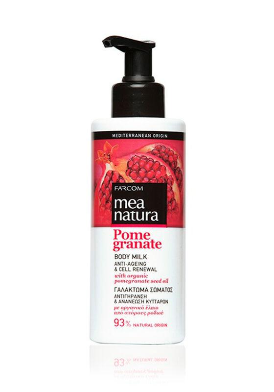 Farcom Молочко для тела Mea Natura Pomegranate с маслом граната омолаживающее 250 мл - фото 1