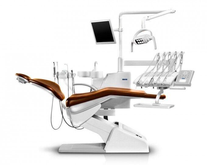 Стоматологическое оборудование Siger Стоматологическая установка U200 Speсial Edition с верхне подачей инструментов - фото 1