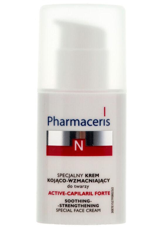 Pharmaceris Специальный успокаивающе-укрепляющий крем для лица Active-Capilaril Forte, 30 мл - фото 1