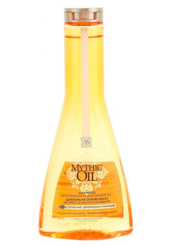 Loreal Шампунь MYTHIC OIL для нормальных и тонких волос 250 мл - фото 1