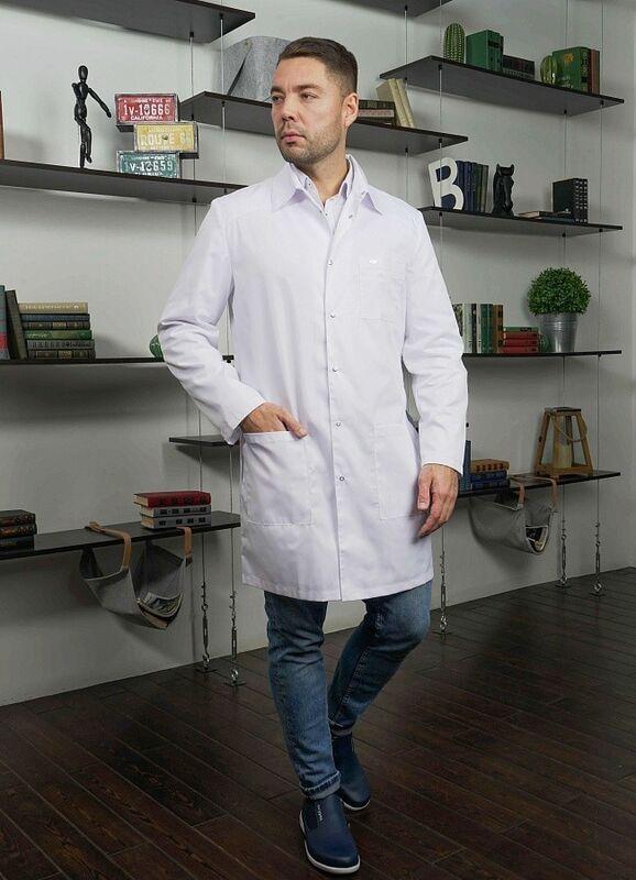 Доктор Стиль Медицинский халат «Сиэт» ЛУ 1112.01 - фото 4