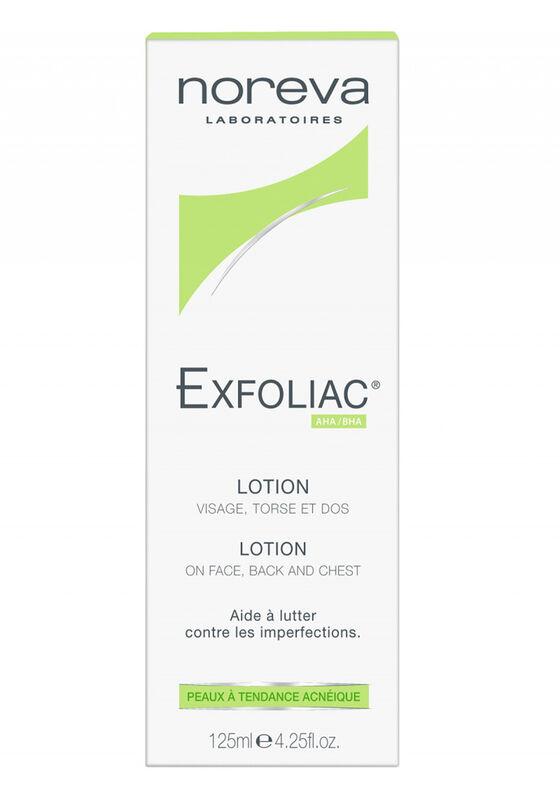 Noreva Лосьон Эксфолиак с высокой концентрации  АНА для кожи с тенденцией к акне 125 мл - фото 1