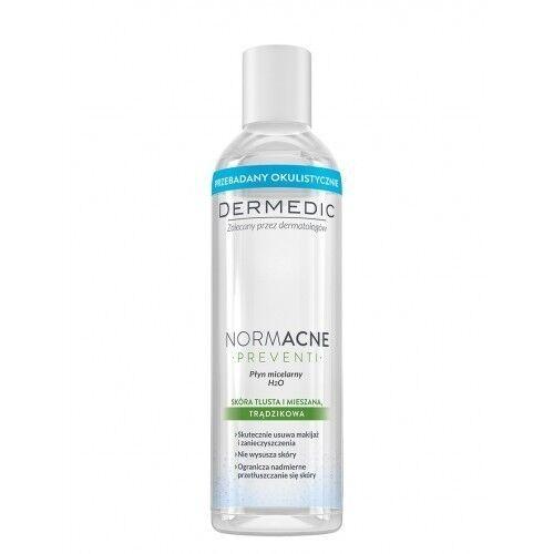 Dermedic NORMACNE мицеллярная вода H2O 200мл - фото 1