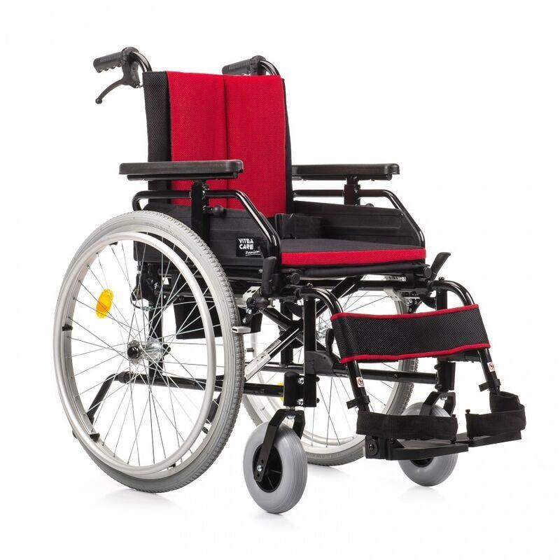MDH Sp. z o.o. Кресло-коляска инвалидная Cameleon (красное) - фото 1