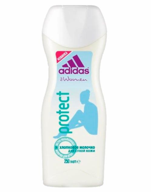 ADIDAS Молочко для душа Protect экстра-увлажняющее для женщин 250 мл - фото 1