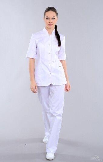 Доктор Стиль Блуза медицинская женская Сандра (лу1224 кор рук) - фото 1