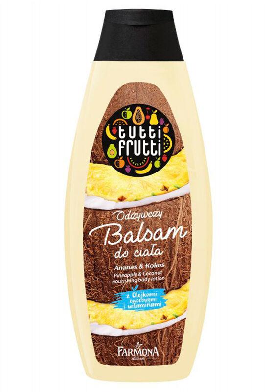 Farmona Бальзам для тела Tutti Frutti Ананас & Кокос питательный 425 мл - фото 1