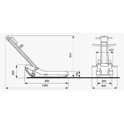 Санитарное приспособление Инвапром Подъемник SHERPA N 902 - фото 2