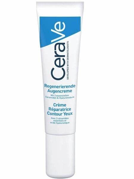 CeraVe Крем восстанавливающий для контура глаз 14 мл - фото 1